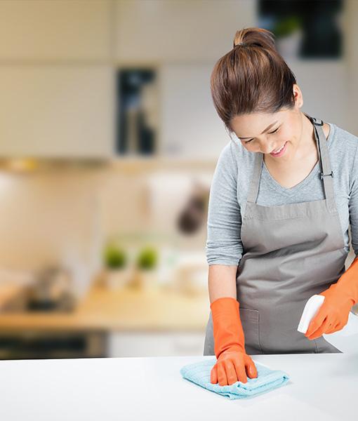 contrato servicio doméstico con período de prueba